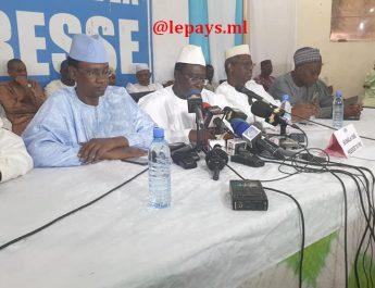 Enlèvement du chef de file de l'opposition, l'honorable Soumaila Cissé : Le FSD, en colère, prend le gouvernement du Mali pour « seul et unique responsable » !