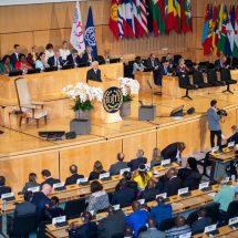 Fête du Centenaire de l'Organisation Internationale du Travail (OIT) : Une conférence axée sur les profondes mutations dans le monde du travail