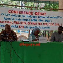 Dialogue national inclusif : La plateforme ANW KO Mali rejette le processus « unilatéral » d'IBK et propose une démarche ascendante