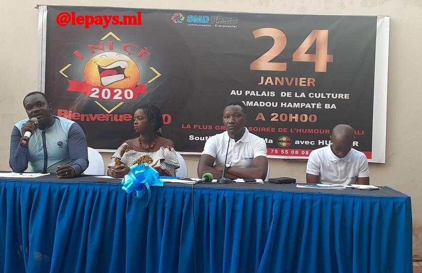 INICE, le plus grand évènement humoristique au Mali : L'édition 2020 prévue pour le 24 janvier !