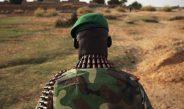 Hommage aux soldats Maliens