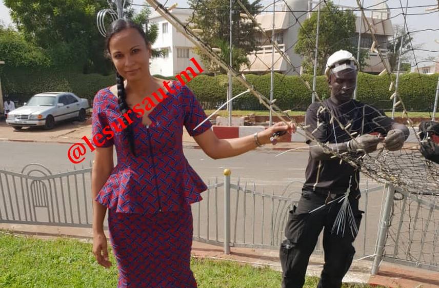 Mme Fadimata Alzara Touré, initiatrice du projet '' Bamako, ville lumière'' : « Notre objectif est d'aller dans toutes les villes du Mali »