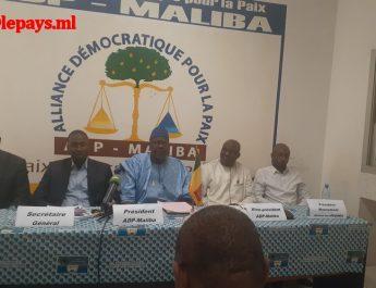 Dialogue national inclusif : L'Adp-Maliba prendra part à la phase nationale avec des recommandations sur chacune des six thématiques