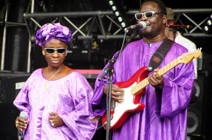 Spectacle : Le couple artiste musicien, Amadou et Mariam, en tournée sous régionale jusqu'au 25 février !
