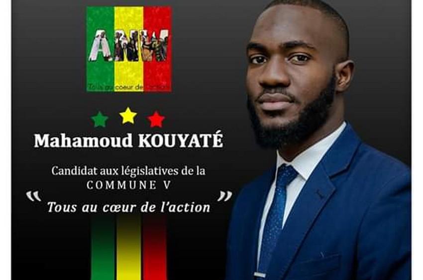 Élections législatives au Mali : Mahamadou Kouyaté dit Moutou candidat en commune V du district de Bamako