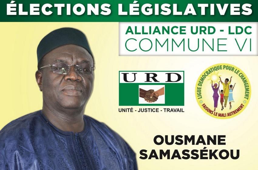 Ousmane Samassekou, candidat sur la liste URD-LDC en commune VI du district de Bamako : « Ma liste est la meilleure parmi les 23 listes de la commune VI »