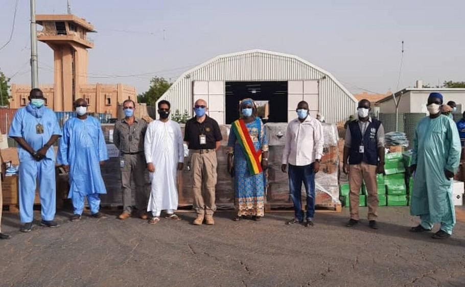 Kayes : La société minière Barrick appuie la lutte contre la covid-19