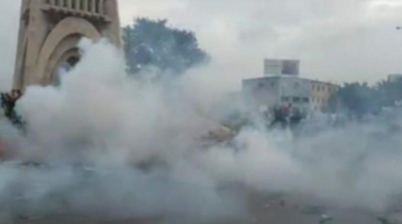 Après avoir passé la nuit au monument de l'indépendance : Les manifestants gazés