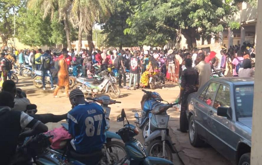 Rentrée scolaire 2020-2021 à Bamako : les mesures barrières partiellement respectées dans beaucoup d'établissements
