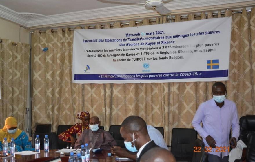COVID-19 : l'ANAM participe à la guerre contre la pauvreté avec les minutions de l'UNICEF