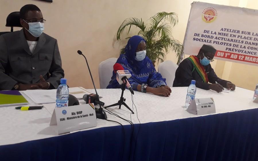 Caisse malienne de sécurité sociale : les travaux de la phase expérimentale de la mise en place des indicateurs et tableaux de bord actuariels de la CIPRES débutée