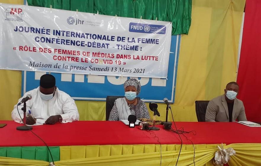 Lutte contre la Covid-19 au Mali : Les femmes de médias du Mali s'y engagent