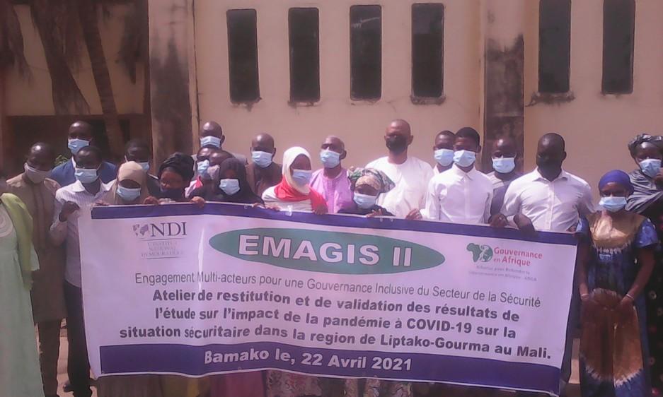 Impact de la covid-19 et de la situation sécuritaire de Liptako-Gourma et de Bamako : Arga-Mali et ses partenaires valident des résultats des experts