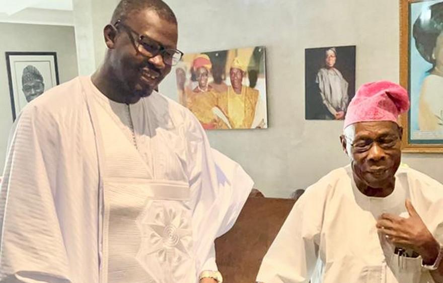 Un malien chez Olesegun Obasanjo, ancien Président du Nigéria : Moussa Kondo, un jeune à l'avenir prometteur qui fait la fierté du Mali !