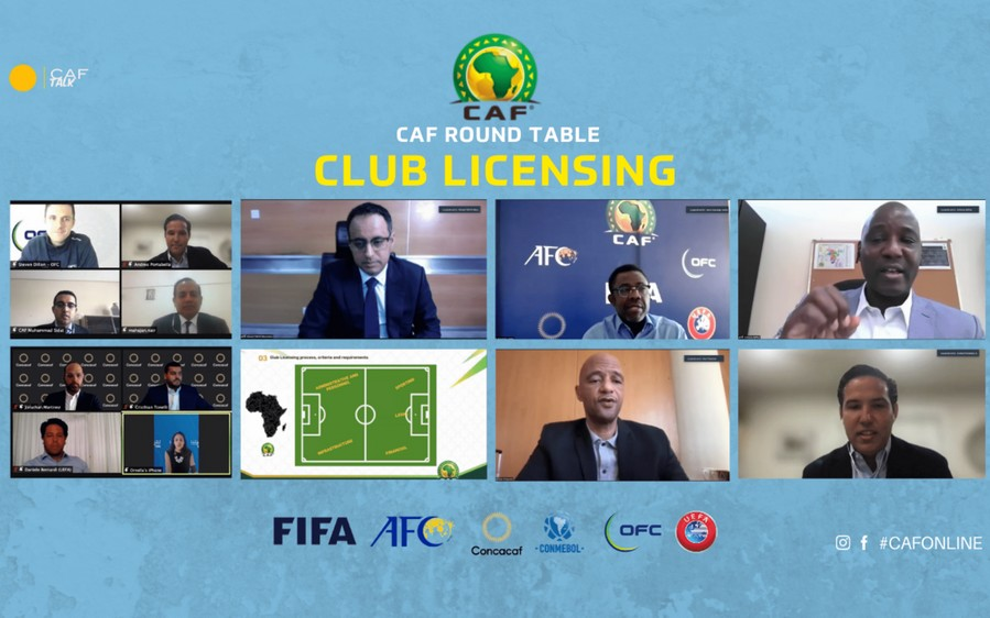 CAF : fin de l'atelier d'échange sur l'évolution du football africain