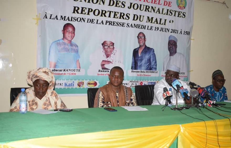 Amélioration des conditions de vie et de travail des journalistes reporters du Mali : L'U.J.R.M sur les font baptismaux