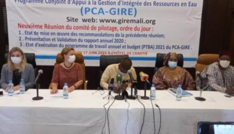 PCA-GIRE : le comité de pilotage a tenu sa 9ème session